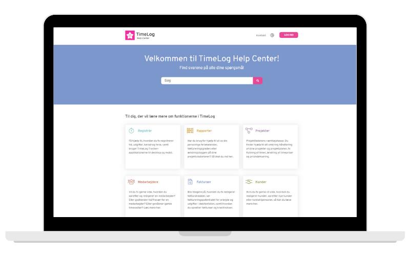 TimeLog Help Center
