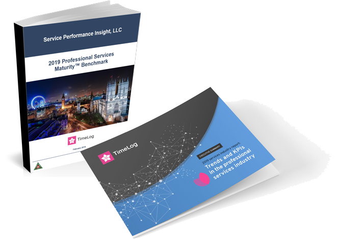 KPIs and trend report for professional services 2019