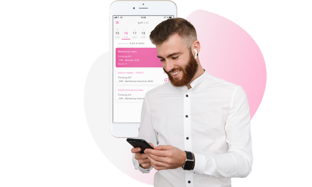 TimeLog Mobile App